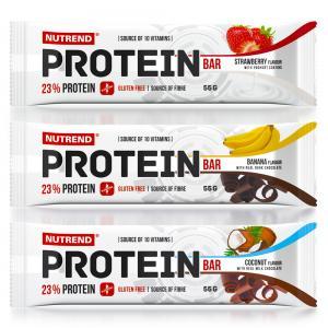 Protein bar 23% 55 гр.  Nutrend