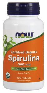 Now Foods Spirulina 500 мг 100 табл