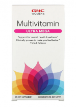Multivitamin Ultra Mega 180 каплет GNC
