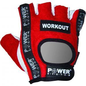 Перчатки Workout PS-2200 красные Power System