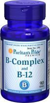 B-Complex B-12 90 табл Puritans Pride