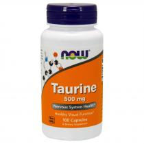 Now Foods Taurine 500 mg 100 капс