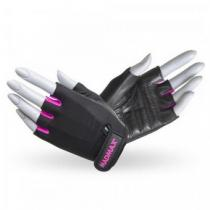 Перчатки Rainbow MFG-251 черно-розовые Mad Max