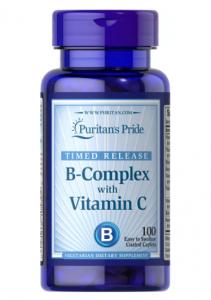Puritan's Pride Vitamin B-Complex + Vitamin C  100 капл