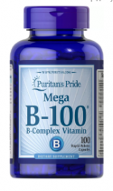 Puritan's Pride Vitamin B-Complex B-100 100 капс