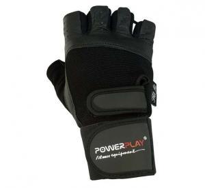 Перчатки MENS 1073 черные Power Play