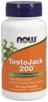 Testo Jack 200 60 caps, Now Foods