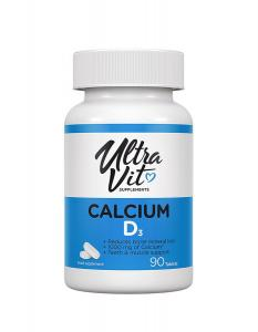 VP laboratory Ultra Vit  Calcium D3  90 таб.