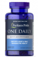 Puritan's Pride One Daily men's multivitamin 100 капс