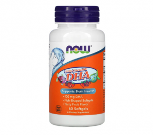 Now Foods Kids Chewable DHA 60 softgels