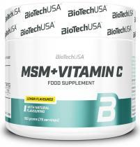MSM+1500 Vitamin C 150 гр  Biotech