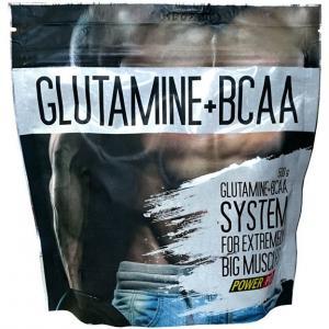 Power Pro Glutamin+BCAA 500 г