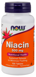 Now Foods Niacin 500 мг 100 капс