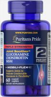 Glucosamine Chondroitin MSM Triple Strength 60 таб Puritans Pride