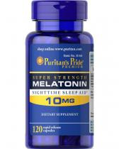 Melatonin 10 mg 120 капс Puritans Pride