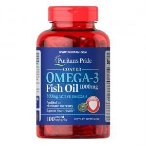 Omega 3 1000 мг 100 таб Puritans Pride