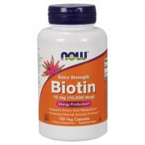 Biotin 10,000 mcg 120 капс Now Foods