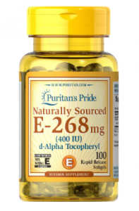 Puritan's Pride Vitamin E  400IU  100 softgels