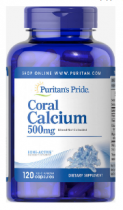 Puritan's Pride Coral Calcium  120 капс
