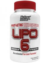 Lipo-6 Liqui-caps Fat-Loss Formula 120 капс Nutrex