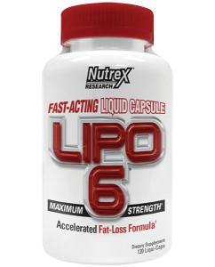 Nutrex Lipo-6 Liqui-caps Fat-Loss Formula 120 капс