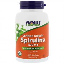 Now Foods Spirulina 500 мг 180 табл