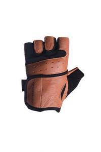 Перчатки MENS 02-2229 коричневые Power Play