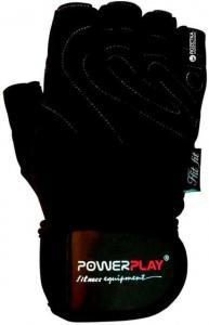 Перчатки MENS 1063-E черные Power Play