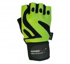 Перчатки MENS 1064-D зеленые Power Play