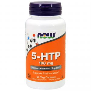 Now Foods 5-HTP 100мг 60 капс