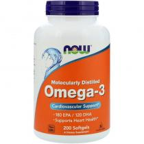 Omega-3 200 капс Now Foods