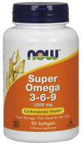 Now Foods Super Omega 3-6-9 90 капс