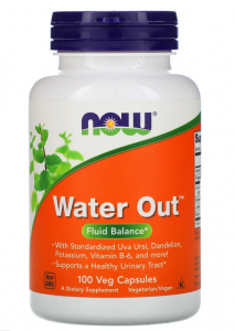 Now Foods Water Out  100caps,