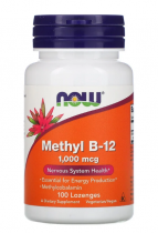 Now Foods Methyl B-12 (1000 мкг, 100 пастилок)