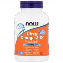 Now Foods Ultra Omega 3-D 90 softgels
