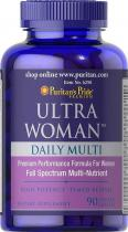 Ultra Woman 90 каплет Puritans Pride