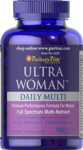 Puritan's Pride Ultra Woman 90 каплет