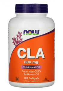 Now Foods CLA 800 мг 90 капс
