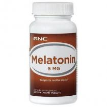 Melatonin 5 60 таб GNC