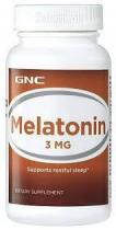 Melatonin 3 60 таб GNC