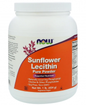 Now Foods Sunflower Lecithin 454 гр