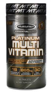 Platinum Multivitamin 90 таб Muscletech