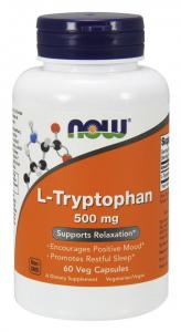 Now Foods L-Tryptophan 60 капс
