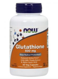 Glutathione 60 капс Now Foods