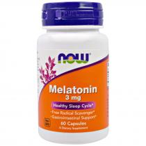 Melatonin 3 мг 60 капс Now Foods