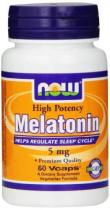 Melatonin 5 мг 60 капс Now Foods