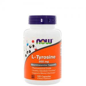 Now Foods L-Tyrosine 500 мг 120 капс