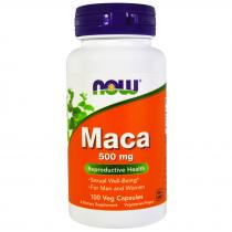 Now Foods Maca 500 мг 100 капс