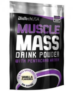 Biotech Muscle Mass 1000 г
