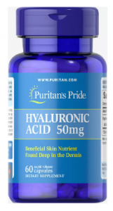 Puritan's Pride Hyaluronic Acid 50 mg 60 капс